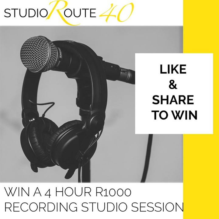 To stand the chance to WIN a 4 hour recording studio se...